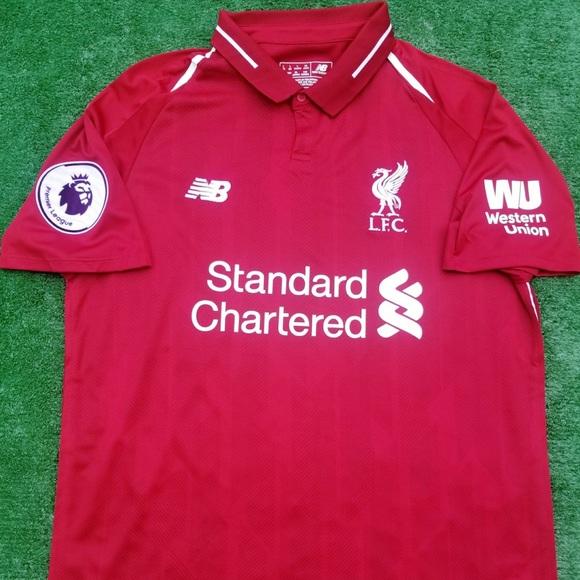 a192291f42b New Balance Shirts   1819 Liverpool Soccer Jersey Salah   Poshmark